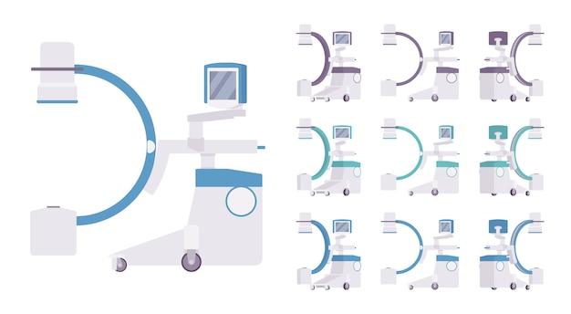 Zestaw urządzeń rentgenowskich