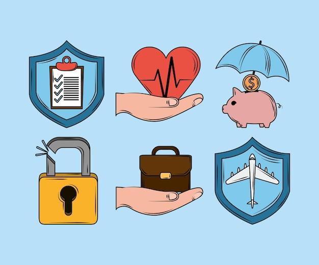 Zestaw usług ubezpieczeniowych