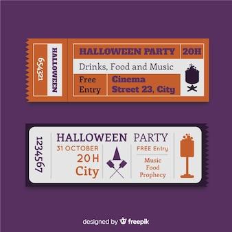 Zestaw vintage party halloween