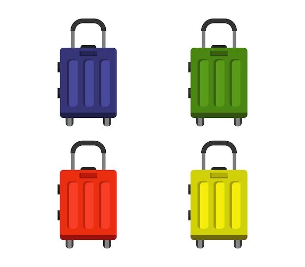 Zestaw walizek podróżnych