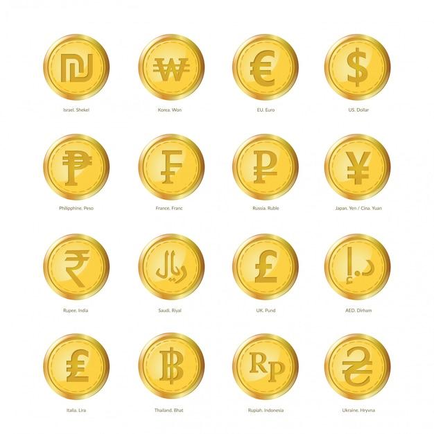 Zestaw walutowy