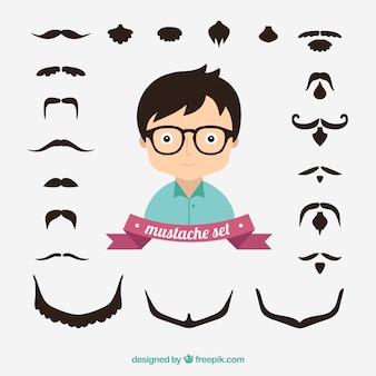 Zestaw wąsy