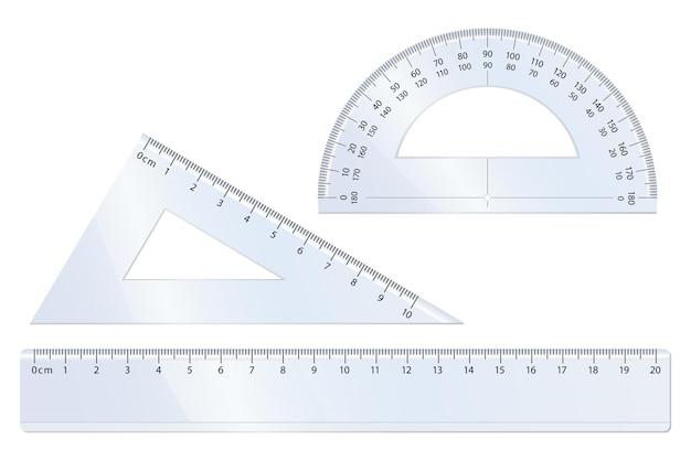 Zestaw wektorów geometrii do matematyki