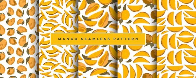 Zestaw wzór mango