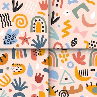 Zestaw wzorów abstrakcyjnych