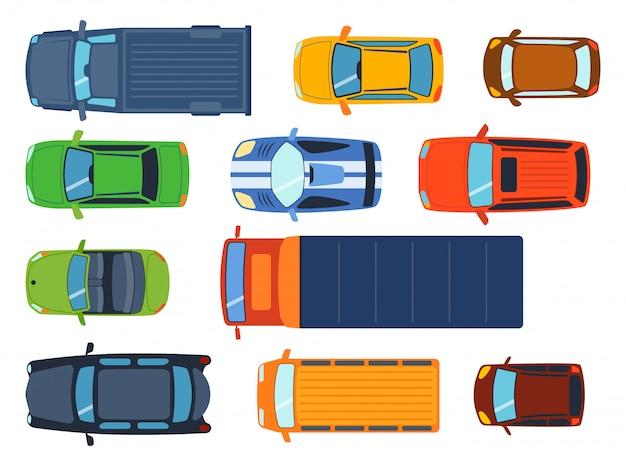 Zestaw zabawek samochodowych
