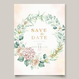 Zestaw zaproszeń ślubnych
