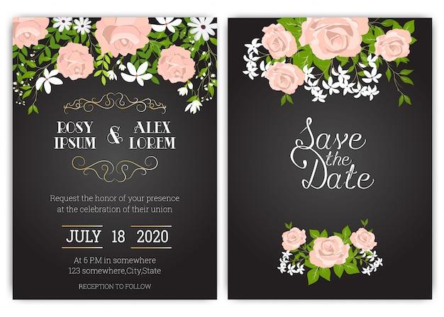 Zestaw zaproszeń