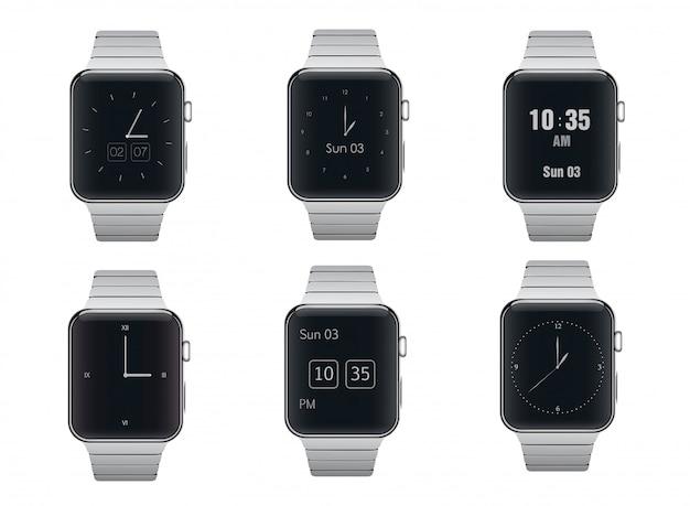 Zestaw zegarków z inteligentnymi zegarkami