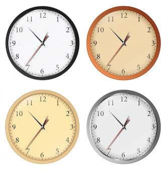 Zestaw zegarów