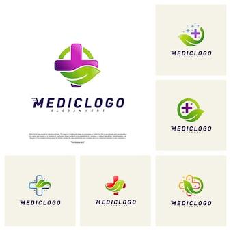 Zestaw zielony medyczny Logo