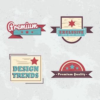 Zestaw znaczków jakości premium
