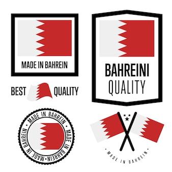 Zestaw znaków jakości bahrein
