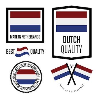 Zestaw znaków jakości holenderskiej
