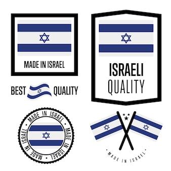 Zestaw znaków jakości izraela