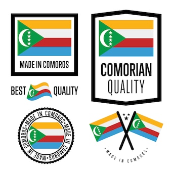 Zestaw znaków jakości komorów