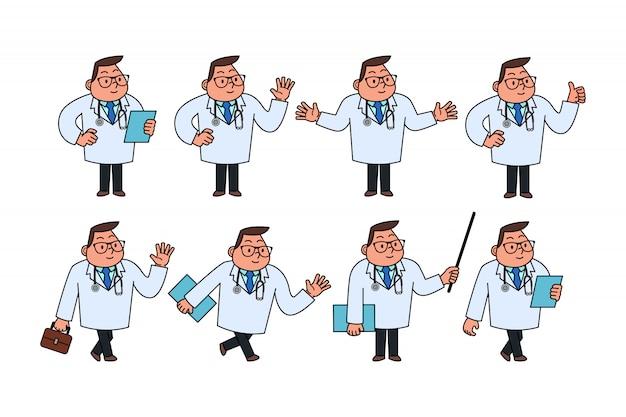 Zestaw znaków lekarza