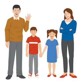 Zestaw znaków rodzinnych