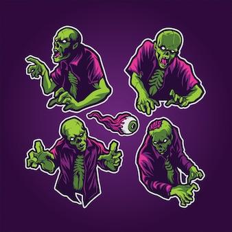 Zestaw zombie