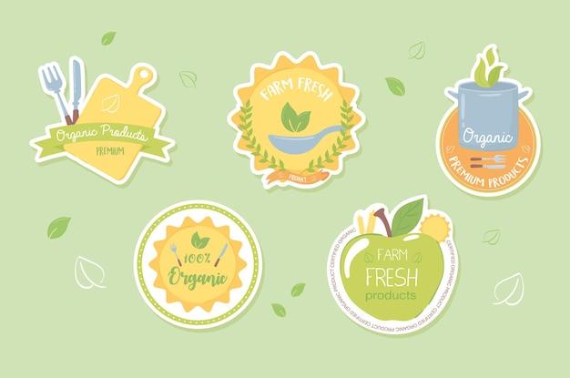 Zestaw żywności ekologicznej