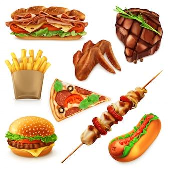 Zestawy do fast foodów