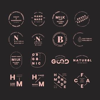 Zestawy logo marki