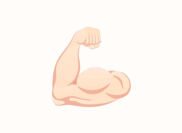 Zgięty biceps ikona