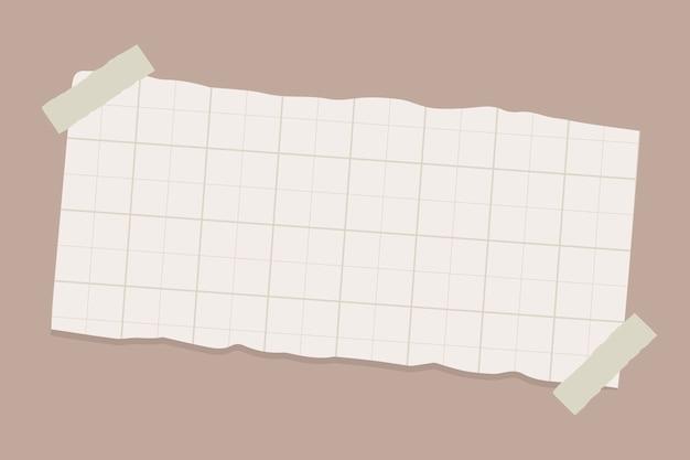 Zgrana notatka papierowa