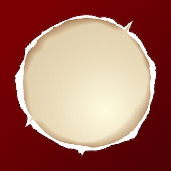 Zgrywanie papieru okrągłego