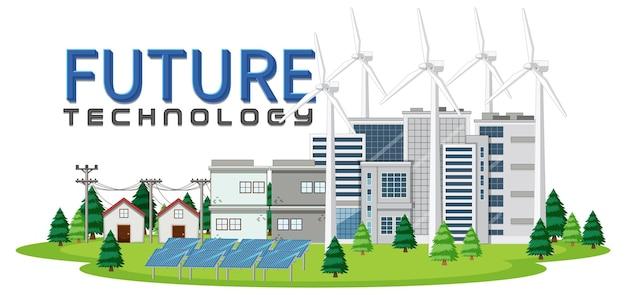 Zielona energia generowana przez turbinę wiatrową