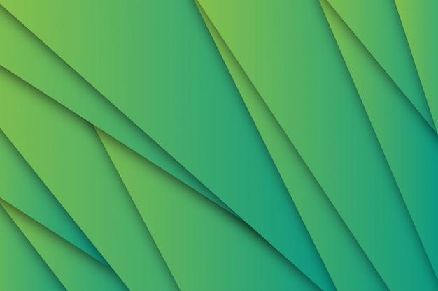Zielona księga wyciąć niesamowite tło