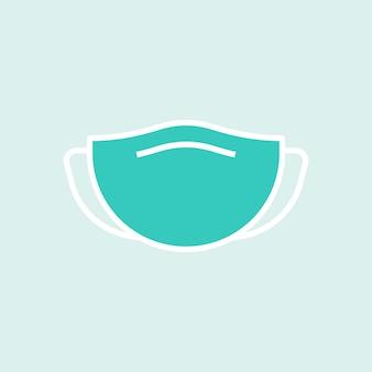 Zielona maska na twarz