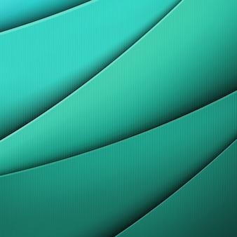 Zielona plecionka