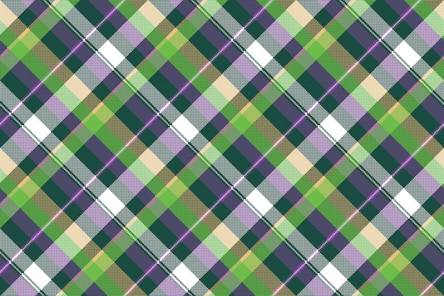 Zielona purpurowa bezszwowa deseniowa czek tkaniny tekstura