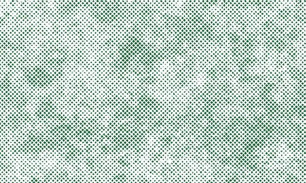 Zielona szczegółowa tekstura grunge na białym tle