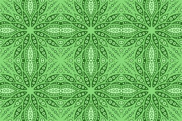 Zielona sztuka z kwadratowym bezszwowym abstrakta wzorem