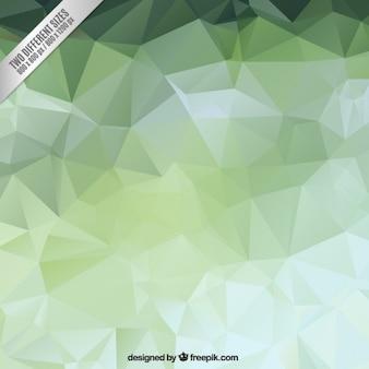 Zielona wielokątne backgound
