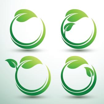 Zielone etykiety