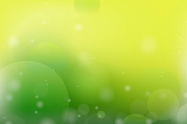 Zielone i żółte abstrakcyjne tło