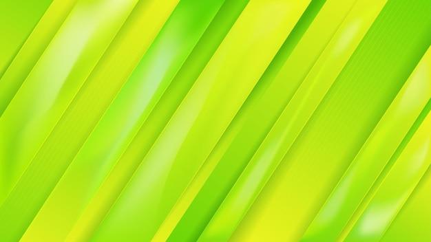 Zielone minimalne tło premium wektor