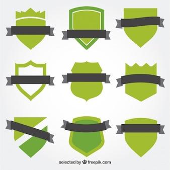 Zielone tarcze