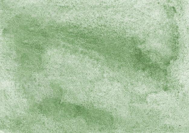 Zielone tło akwarela i tekstura tło