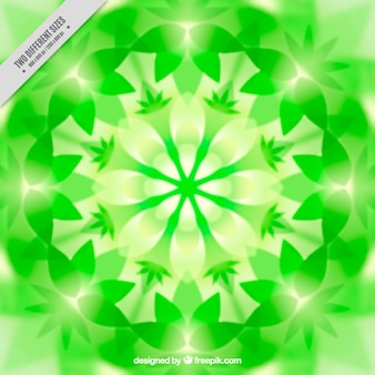 Zielone tło kalejdoskop
