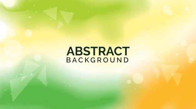 Zielone żółte gradientowe abstrakcyjne tła, nowoczesne kolorowe tła, dynamiczne abstrakcyjne tła