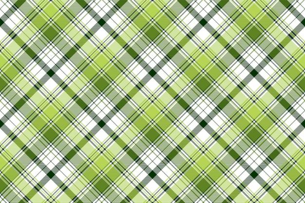 Zielonej irlandii abstrakcjonistycznej czek tekstylny bezszwowy wzór