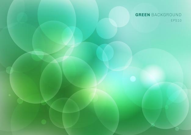 Zielonej natury zamazany tło z bokeh