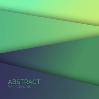 Zielony abstrakcjonistyczny tło