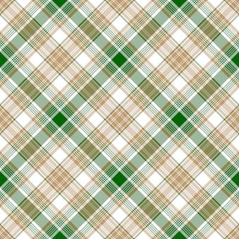 Zielony biały beżowy tkanina tekstura wzór