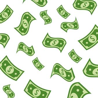 Zielony bill dolar pieniądze