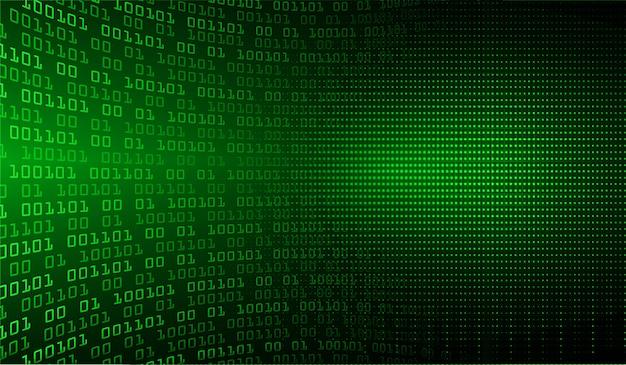 Zielony cyber obwodu przyszłościowy technologii pojęcia tło